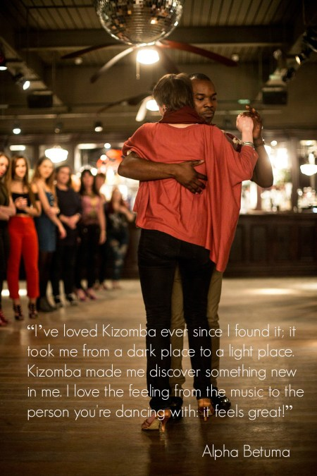 Kizomba took me from a dark place to a light place