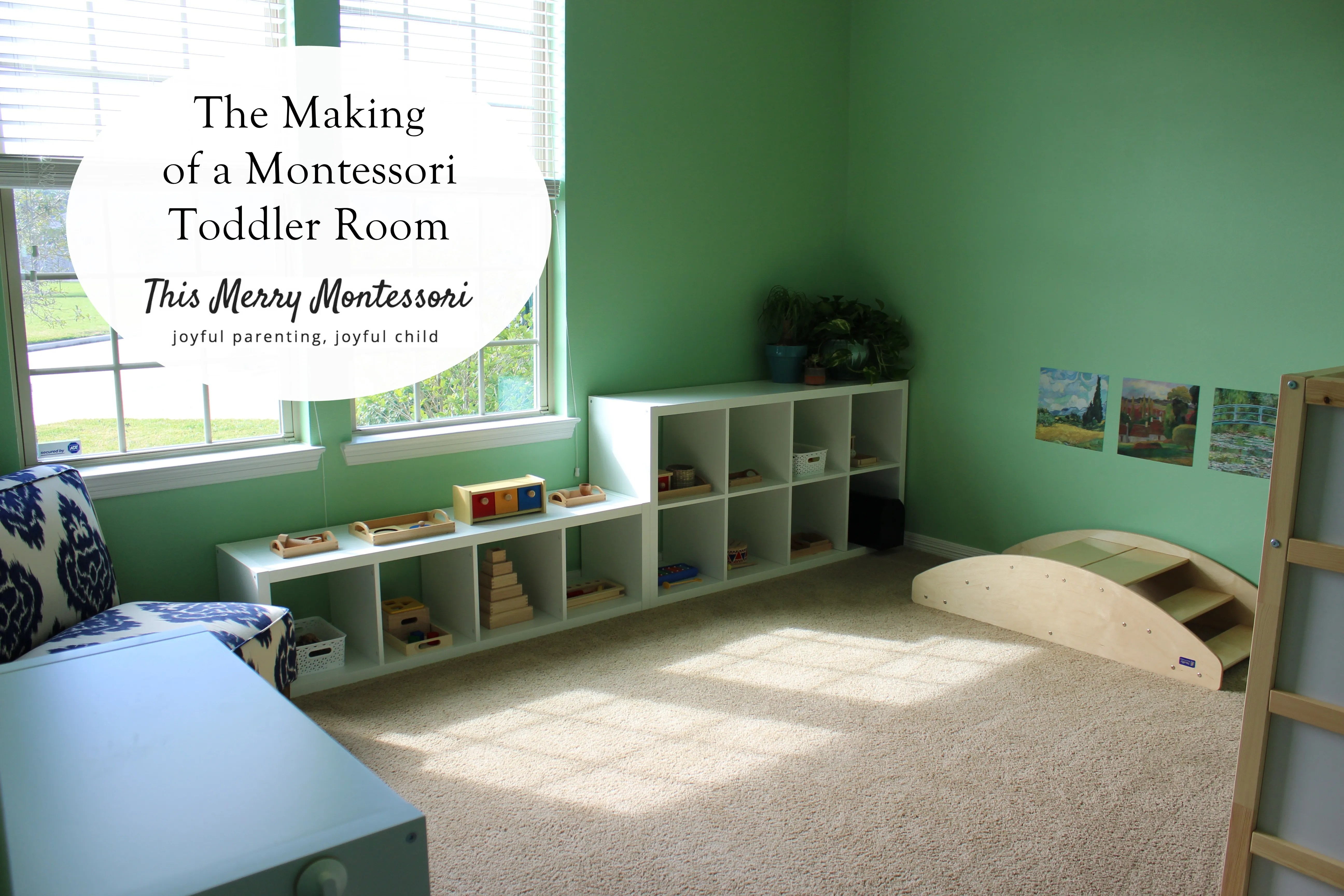 The Making of a Montessori Toddler Room