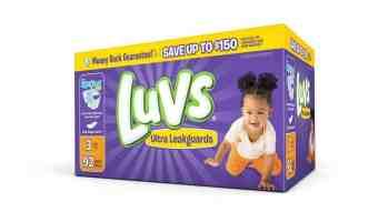 Savings on Luvs Diapers + Ibotta Rebate! #SharetheLuv #ad