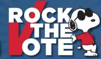 "Peanuts ""Rocks The Vote"" Initiative + Prize Pack Giveaway!! #PeanutsAmbassador"