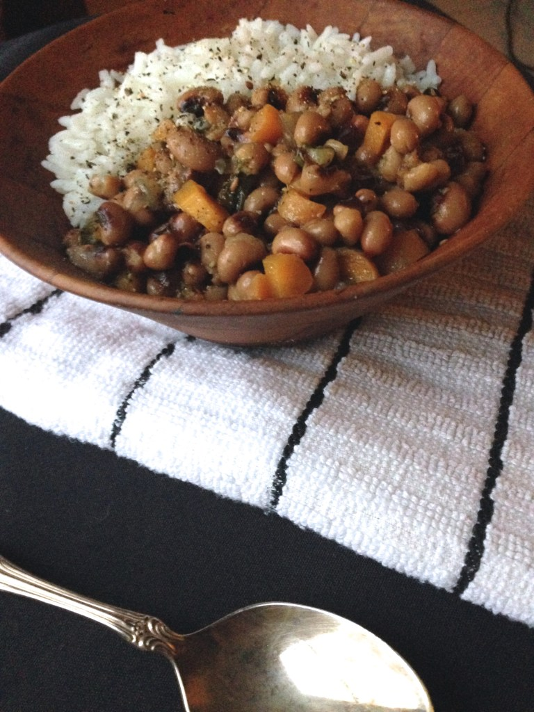 ham and black eyed pea soup