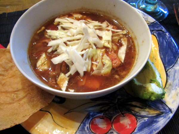 Tortilla soup at Muro Cafe, Restaurants in San Miguel de Allende