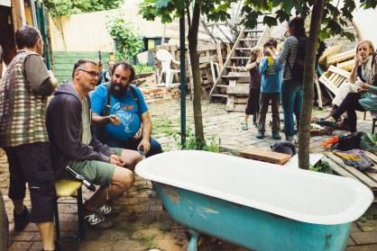 Leipzig mal anders: Zollschuppenstraßenfest
