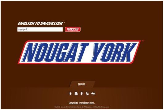 New York --> Nougat York