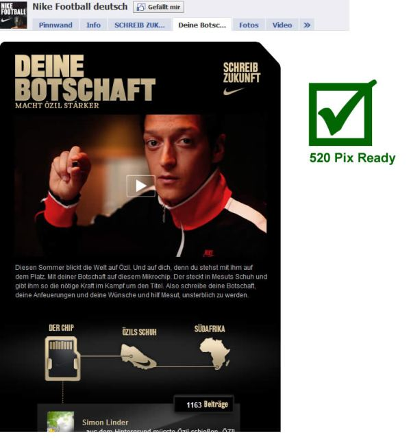 Nike Football Deutsch Facebook Seite