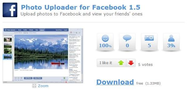 Photo Uploader for Facebook