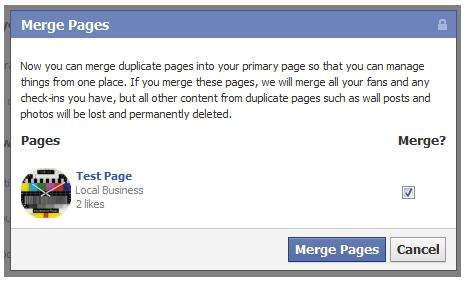 Merge Pages (Quelle: insidefacebook.com)
