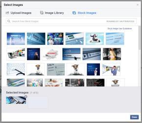 Bilderauswahl mit zur Seite passenden Bildern