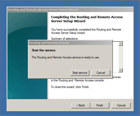 how to open routing and remote access windows 7