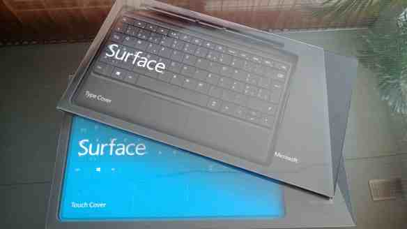 Surface Typecover Touchcover