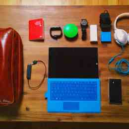What is in my bag for Microsoft Ignite