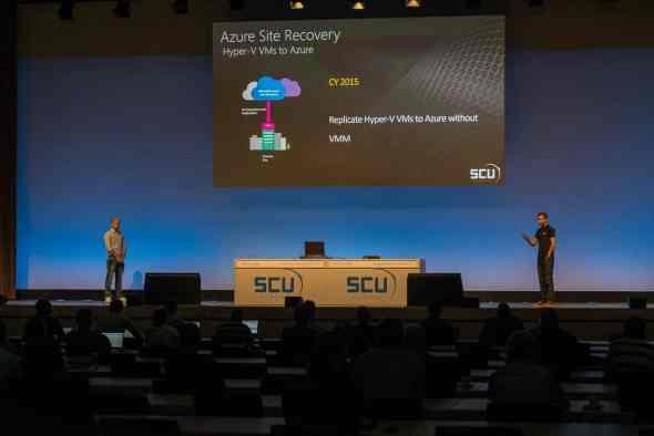 SCU Europe 2015 Azure Site Recovery