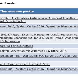 Microsoft TechNet Seminar