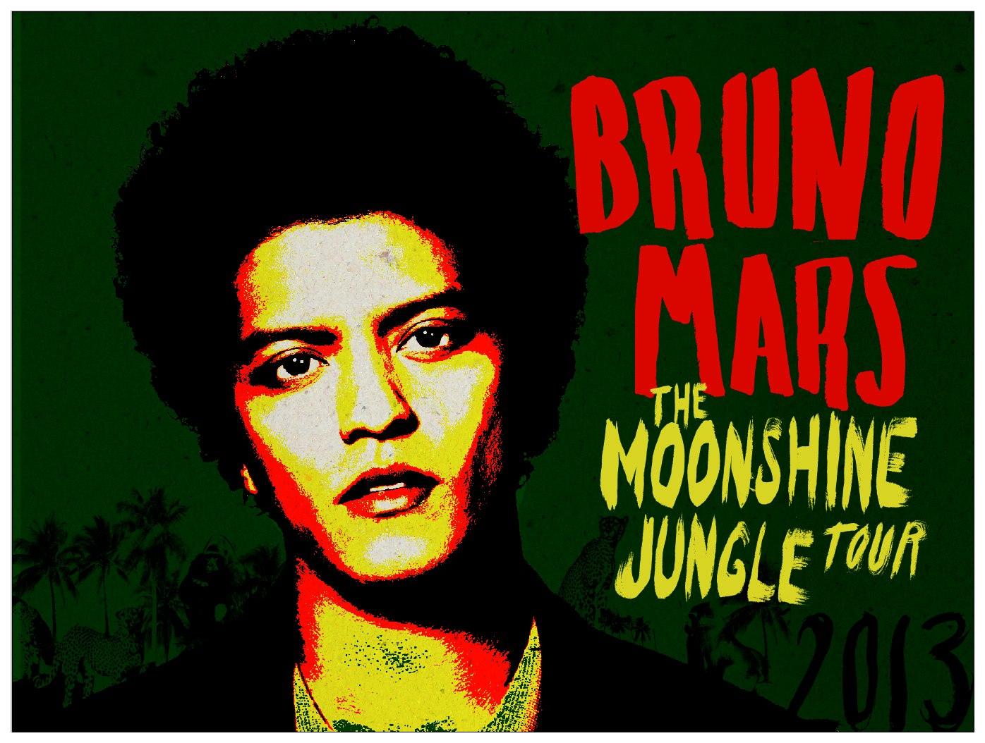 bruno mars concert the mooshine tour