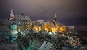 Winter in Warburg.