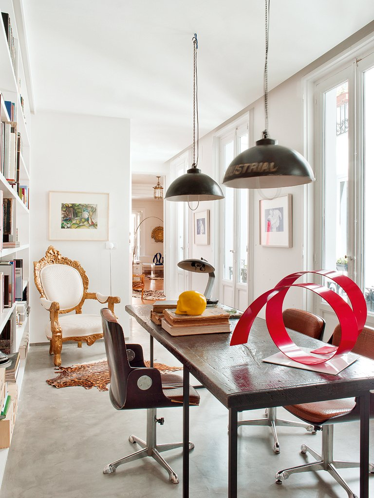 Nods to Classicism in Eclectic Spanish Home   Thou Swell
