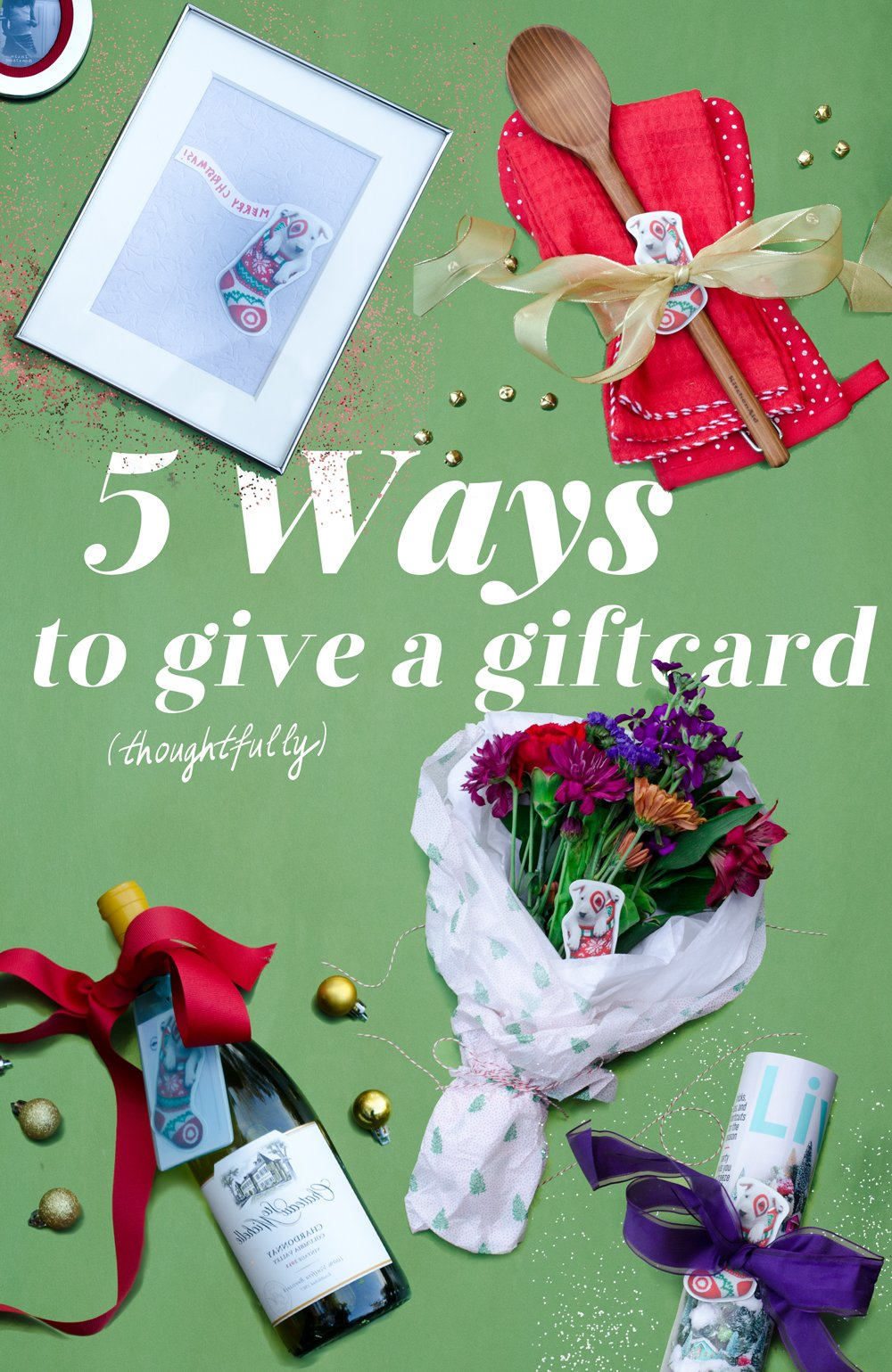 How to Give a Giftcard (Thoughtfully) | Thou Swell http://thouswell.co/