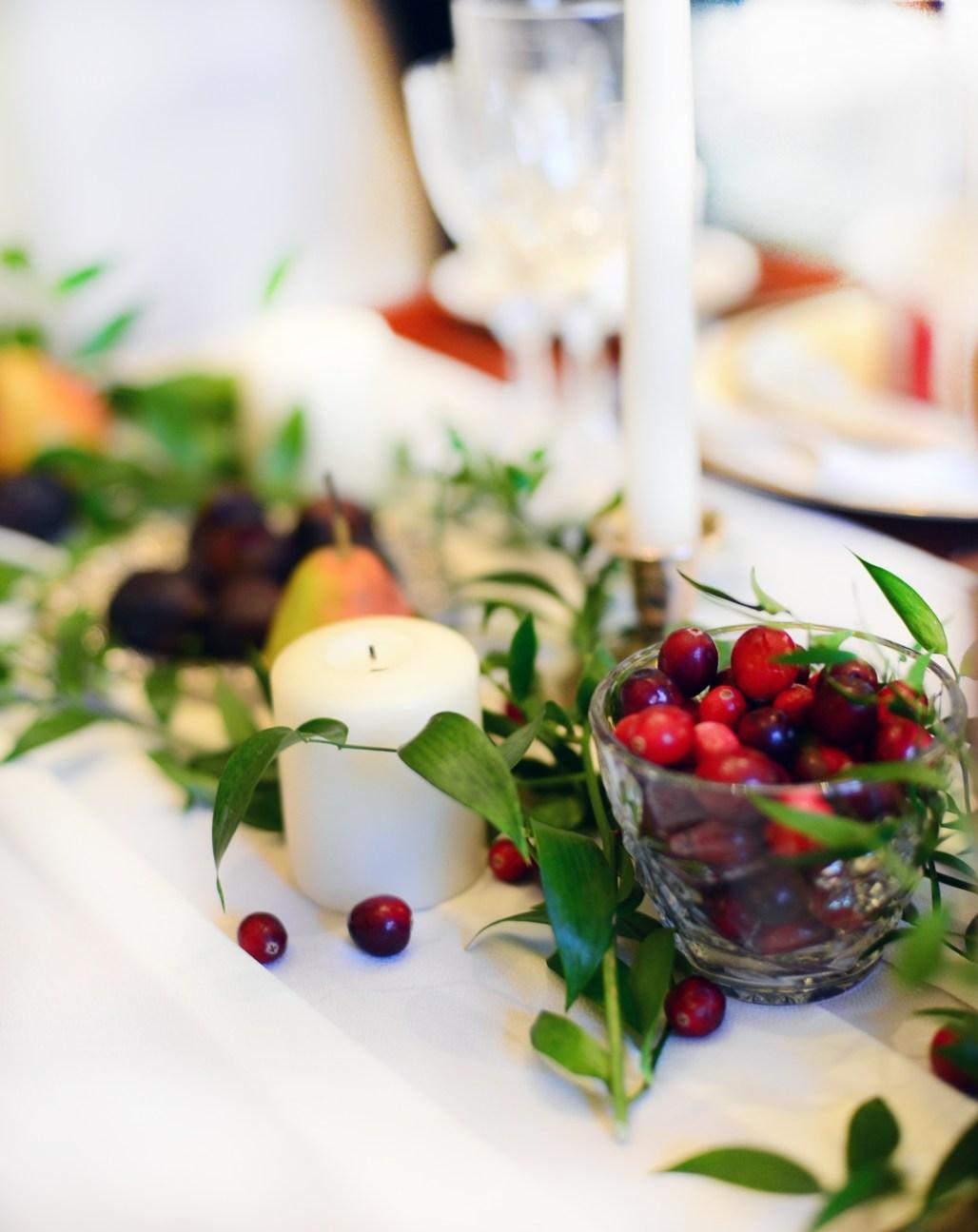 Christmas dining table ideas