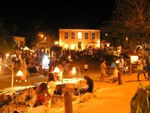Hippie Fair at Night - Morro de Sao Paulo