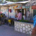 Typical store near Jambiani
