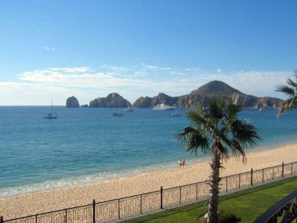 From the condos at Playa El Medano, Cabo San Lucas