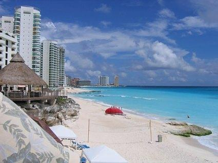 Beach in Cancun