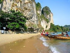 Krabi vacation holiday Ao Nang Railay Beach northern Part Thailand