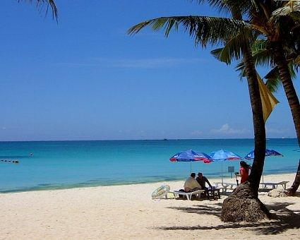 White Beach at High Noon, Boracay Island, Philippines