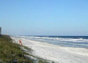 Jacksonville Florida beaches waves