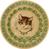 DGD – Digital Goodie Day – Vintage Kitten Sticker #6