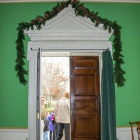 Touring the Governor's Palace at Christmas