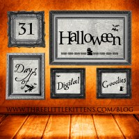 31 Days of Halloween Digital Goodies - Vintage Apothecary Labels Set 1