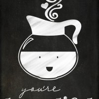 Coffee and Tea Lovers Valentines - You're Brew-tiful