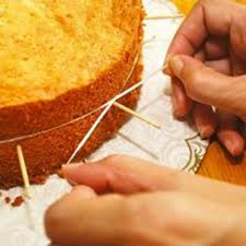 12. Cut cakes, cheese, or any other soft food item, with dental floss.