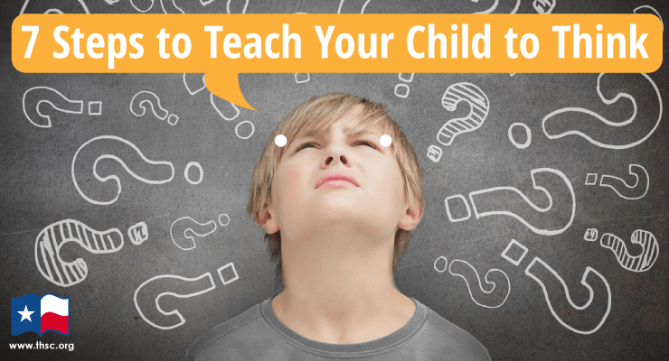 teach your child to think, thsc, homeschool