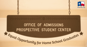 THSC Supports End of Discrimination Against Home School Graduates