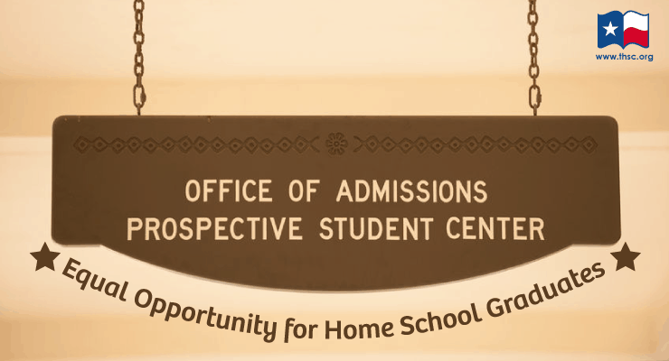 Home School Graduates Deserve Equal Opportunity in College Admissions