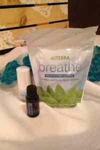 Doterra Breathe gift bag