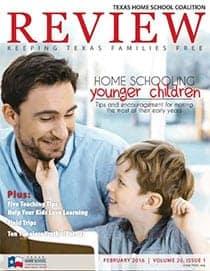 February 2016 REVIEW Homeschool Magazine