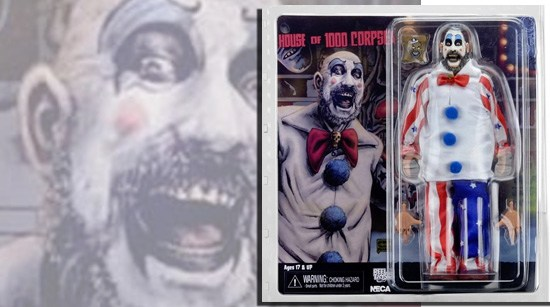NECA News: 'Captain Spaulding' figure from Rob Zombie's '1000 Corpses' is coming!