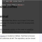 css-terminal