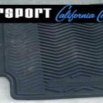 rs logo rubber mat