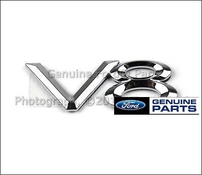 OEM V8 emblem