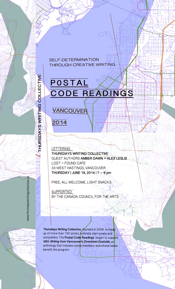 postal code readings poster - Dawn Leslie - Version 10