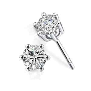 Tiaria Earring Anting Shiney 18K Perhiasan emas berlian 18K white gold diamond
