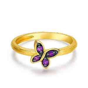 Enchanted Fairy Amethyst ring 1