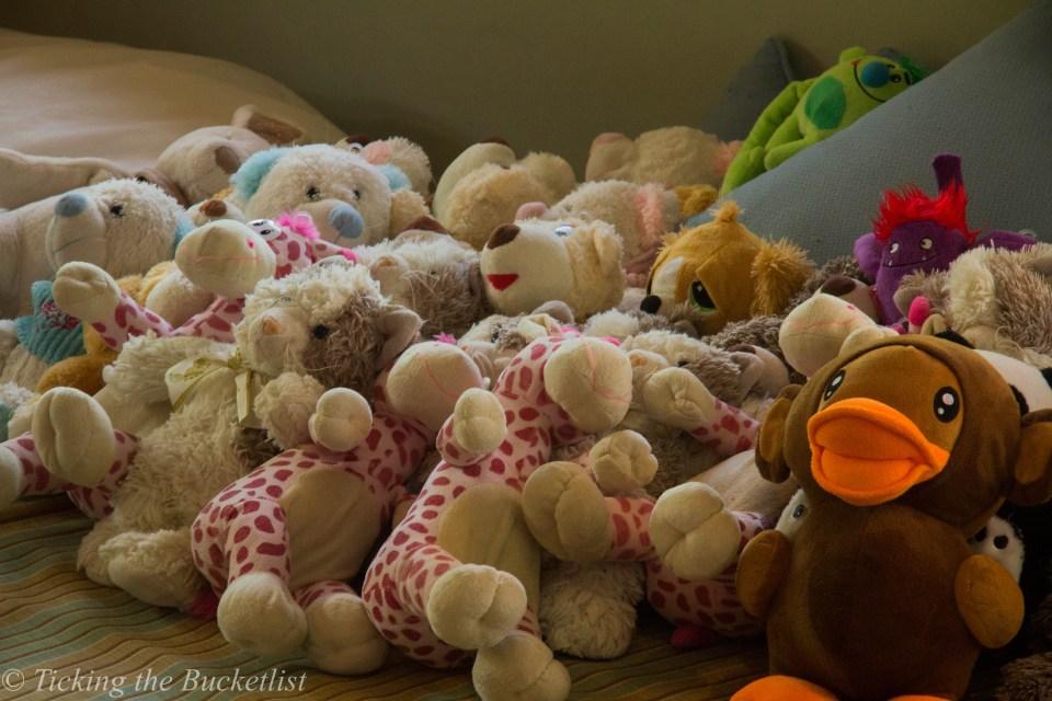 Cuddly soft toys