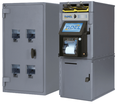 Rolled Coin Dispenser with Series 4e | Tidel