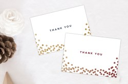 Small Of Christmas Thank You Cards