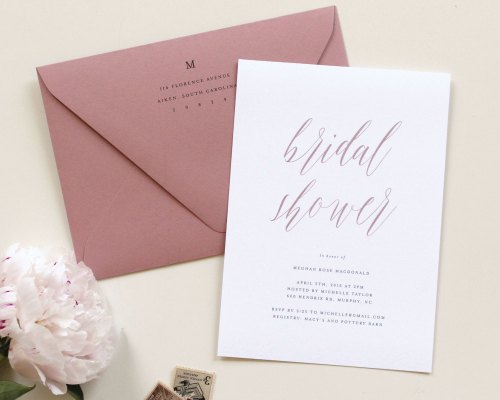 Medium Of Bridal Shower Invitations
